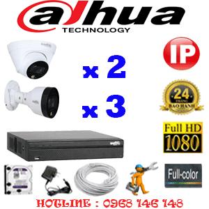 Lắp Đặt Trọn Bộ 5 Camera Ip Dahua 2.0Mp (Dah-2251352)-DAH-2251352