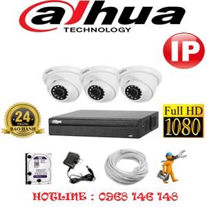 Lắp Đặt Trọn Bộ 3 Camera Ip Dahua 2.0Mp (Dah-234900)-DAH-234900
