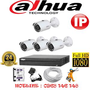 Lắp Đặt Trọn Bộ 4 Camera Ip Dahua 2.0Mp (Dah-245000)-DAH-245000