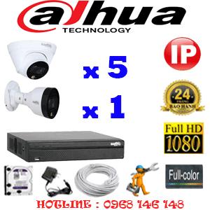 Lắp Đặt Trọn Bộ 6 Camera Ip Dahua 2.0Mp (Dah-2551152)-DAH-2551152