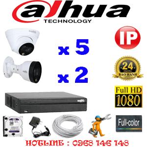 Lắp Đặt Trọn Bộ 7 Camera Ip Dahua 2.0Mp (Dah-2551252)-DAH-2551252