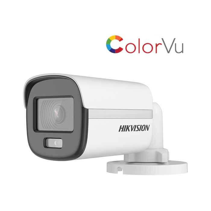 Camera Hdtvi Colorful 2Mp Hikvision Ds-2Ce10Df0T-F-DS-2CE10DF0T-F