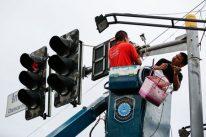 Cảnh sát Trung Quốc lắp camera quan sát ở Campuchia