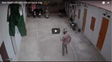Nam thanh niên trộm một lúc hai xe máy-nam-thanh-nien-trom-mot-luc-hai-xe-may